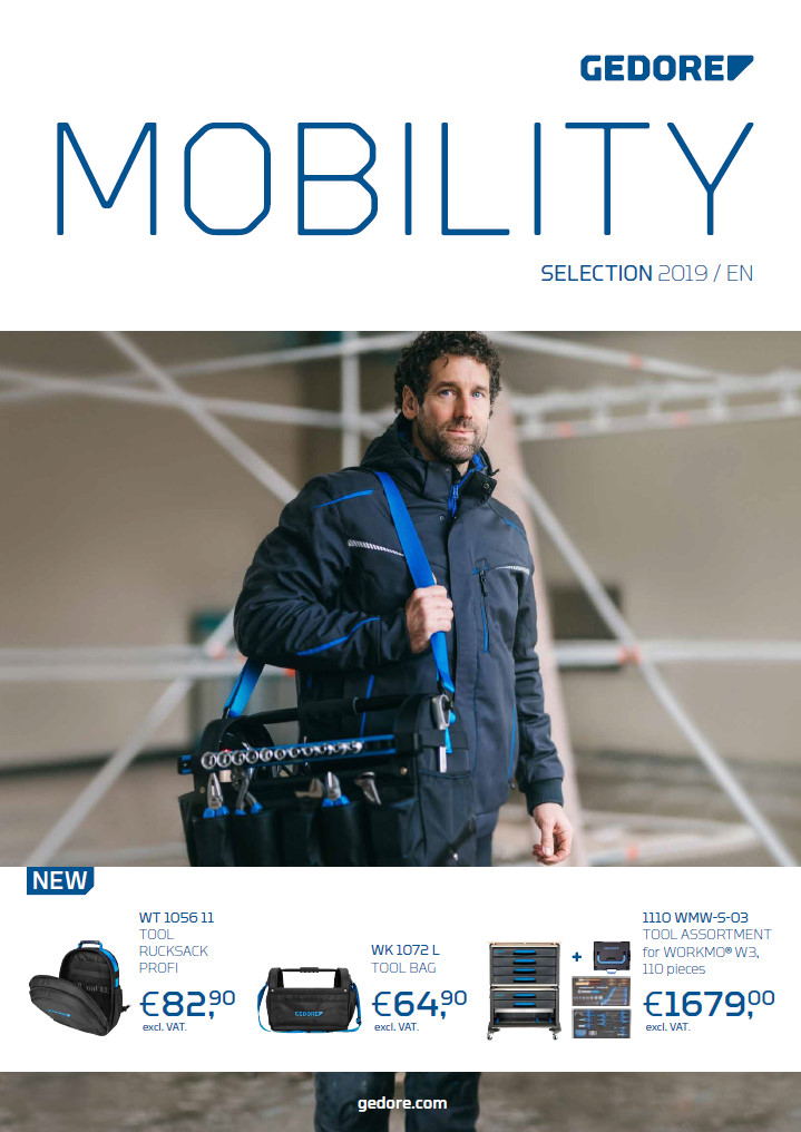 Okładka katalogu Mobility 2019